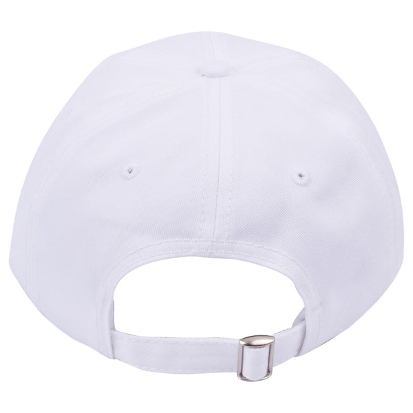Carbon212 Curved Visor Baseball Caps - White