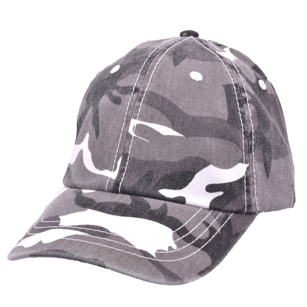 Carbon212 Cotton Camouflage Curved Visor Baseball Caps