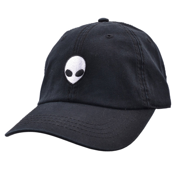 Carbon212 Alien Ufo Baseball Caps - Black