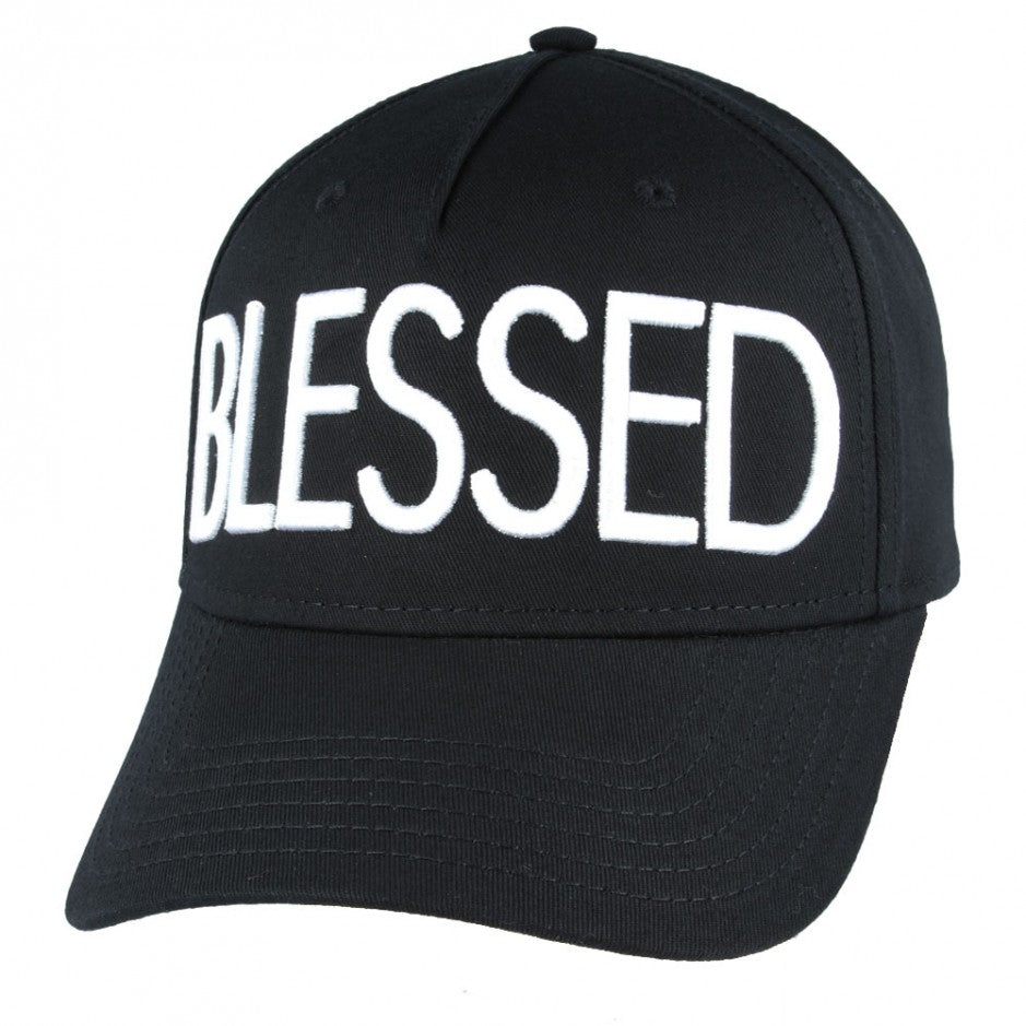 Carbon212 Blessed Baseball Dad Cap - Black