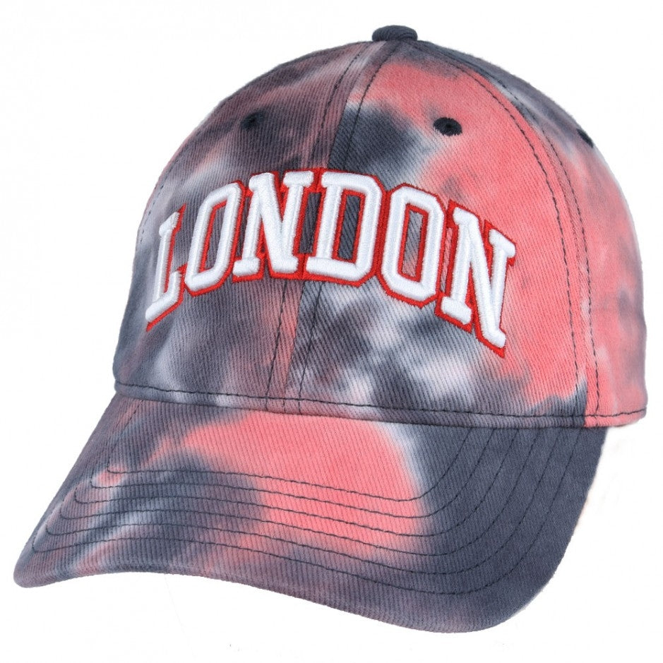 Carbon212 London Tie Dye Colortone Baseball Cap