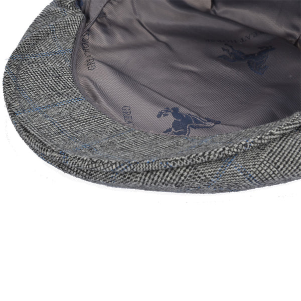 G&H Tweed Flat Cap - Grey