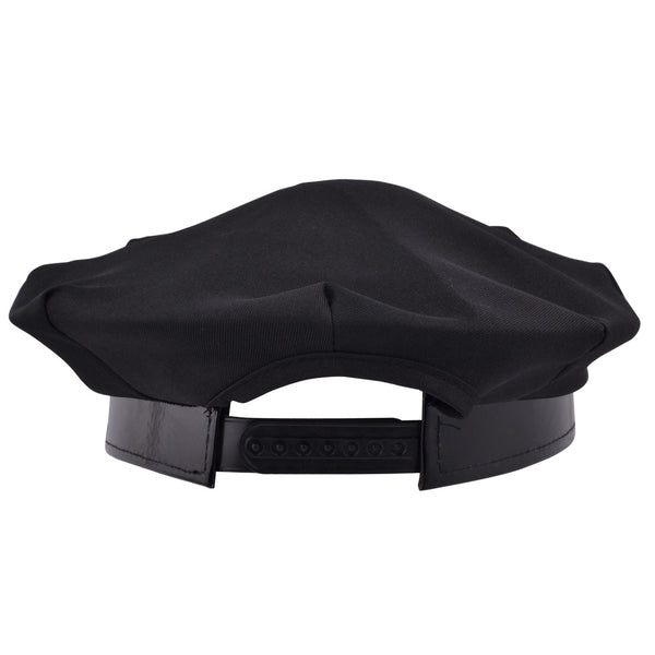 Police Constable Officer Fancy Dress Cap - Black