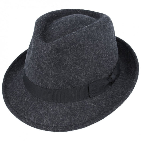 Mix Wool Felt Trilby Hat