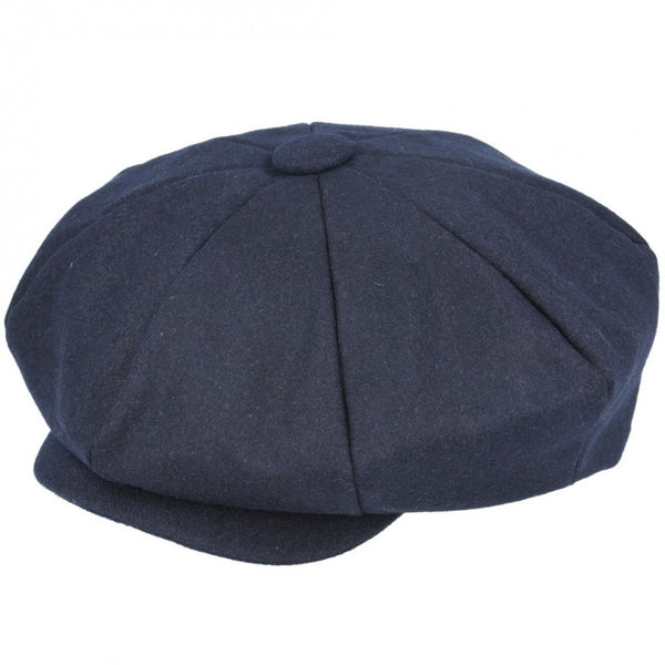 Wool Big Apple Newsboy Cap