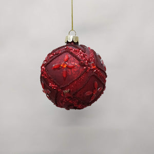 Red Yolanda Bauble