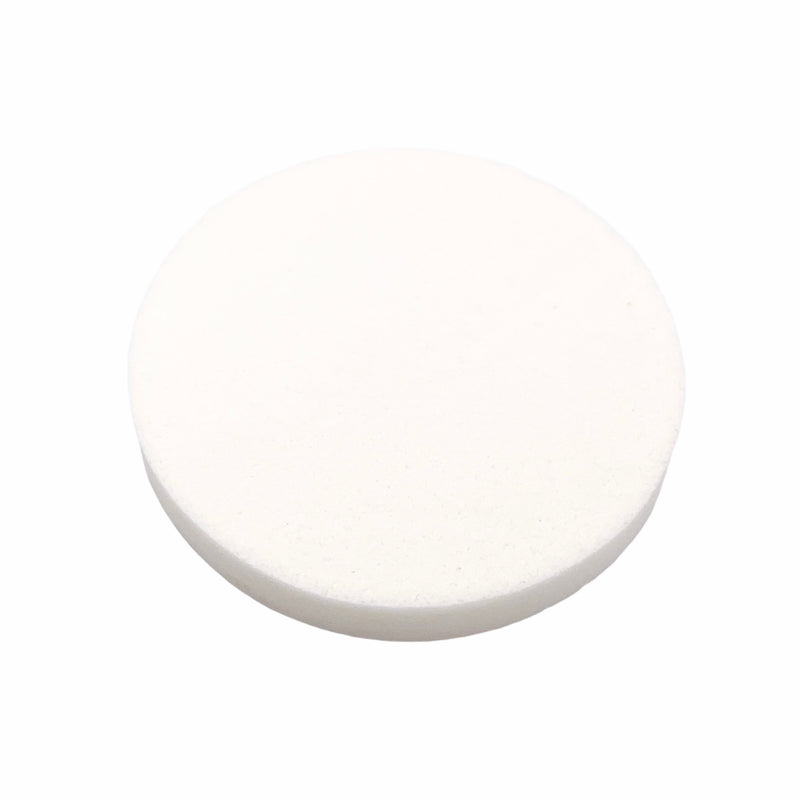 Eyelash practice sponge. Round Make Up Sponge.