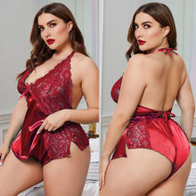 Load image into Gallery viewer, Sexy Plus Size Pajamas Sets