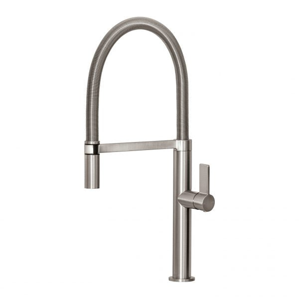 Phoenix Prize Flexible Coil Sink Mixer Brushed Nickel 10273100BN