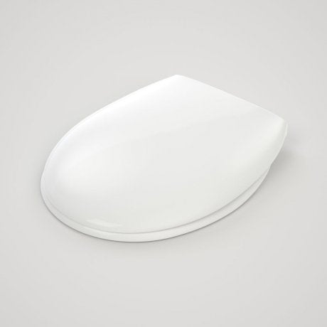 Caroma Caravelle Oval Soft Close Quick Release Toilet Seat 254003W