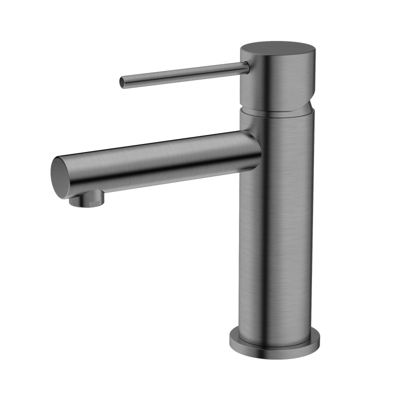 BUK Tes Basin Mixer Brushed Nickel