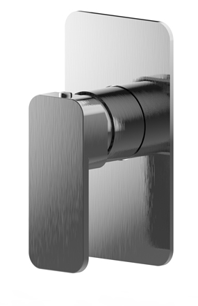 BUK Lexia Shower/Bath Mixer Brushed Nickel BKM504-BN