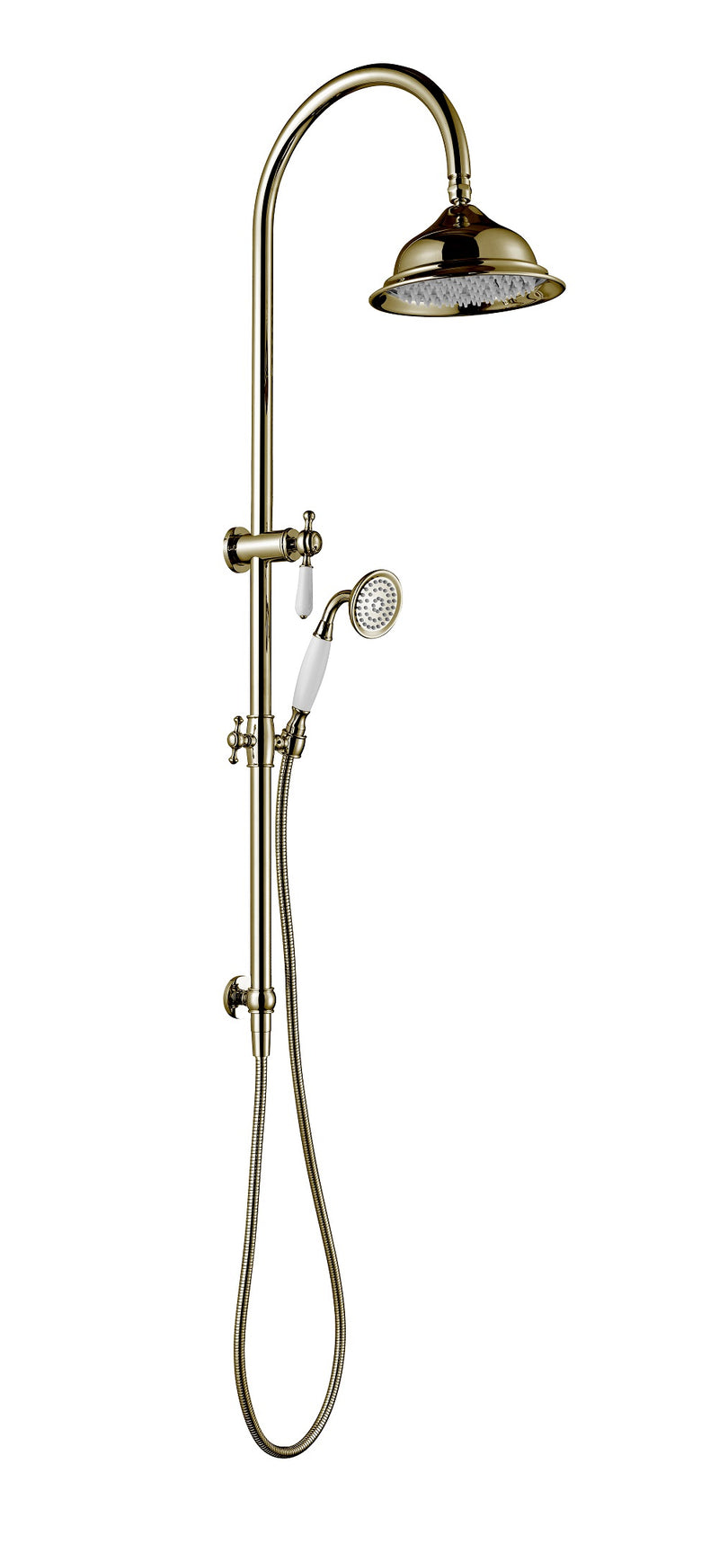 Modern National Bordeaux Shower Column Set Brushed Bronze BOR013BM