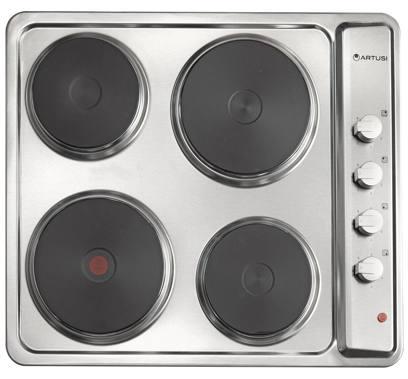 Artusi 60cm Stainless Steel Electric Cooktop CAEH1