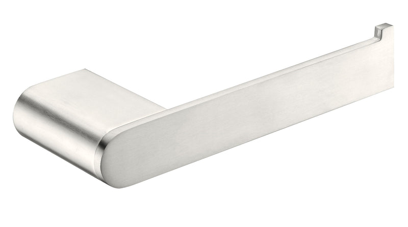 Nero Bianca Toilet Roll Holder Brushed Nickel NR9086BN