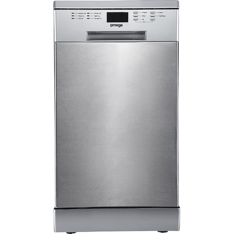 Omega 45cm Stainless Steel Freestanding Dishwasher ODW300XN