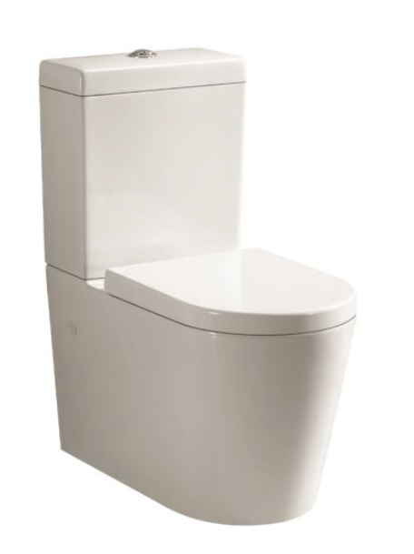 Sterling Orbit Rimless Back to Wall Toilet Suite WCORBWF-U