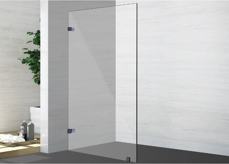 1200 x 2000MM Frameless Single Panel Shower Screen