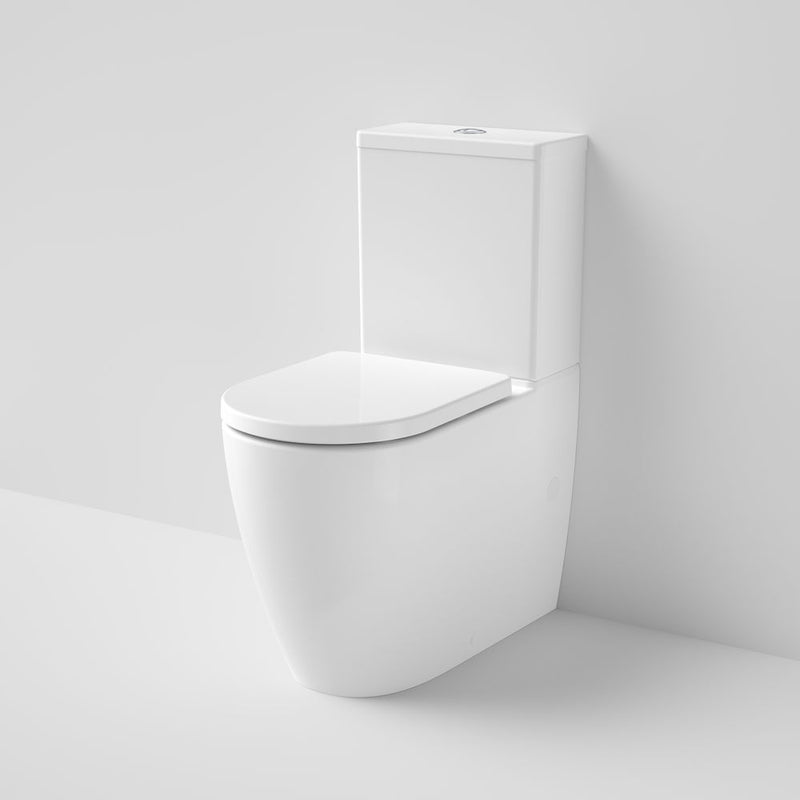 Caroma Urbane II Cleanflush Back to Wall Toilet Suite, Back Entry 746350W