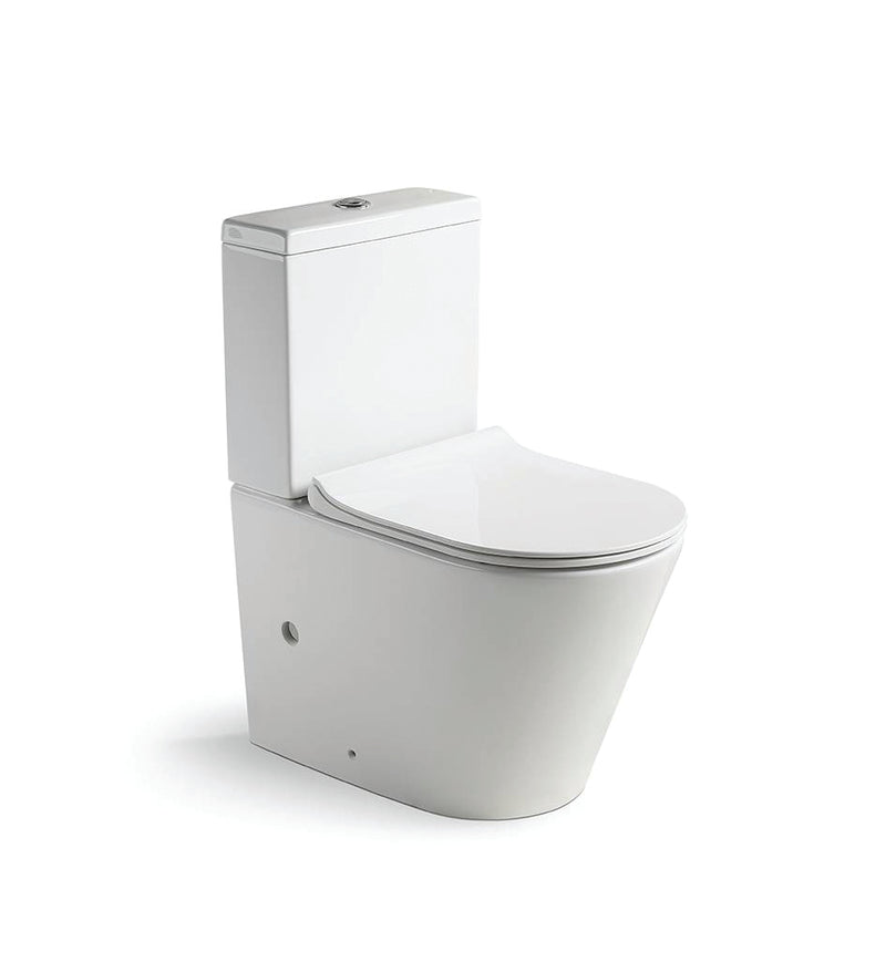 Gallaria Deluxe Rimless Back to Wall Toilet Suite XL2016
