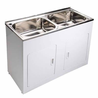 45L Double Bowl Laundry Unit YH-239B