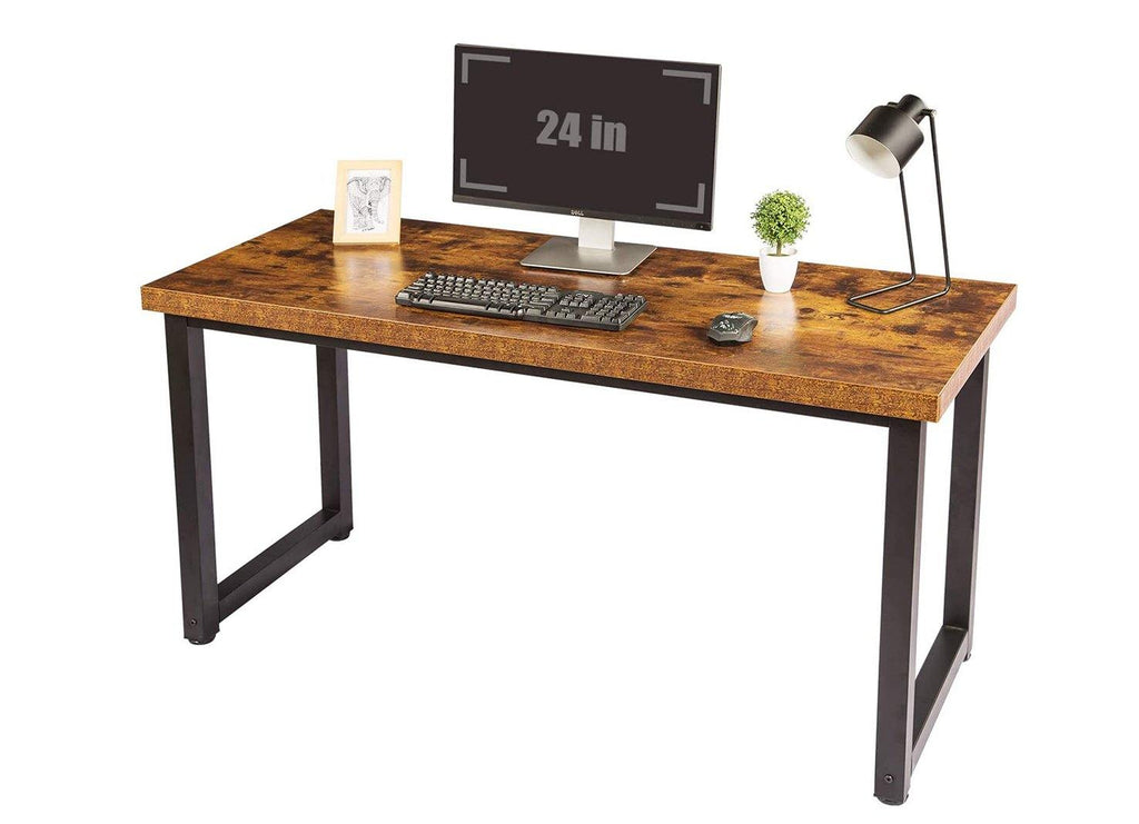 "TOPSKY 59"" Big Large Computer Office Desk 1.18"" Board + 0.7"" Frame - Topskyfurniture"