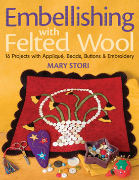 Embellishing with Felted Wool