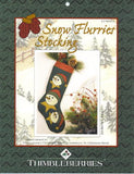 Snow Flurries Stocking