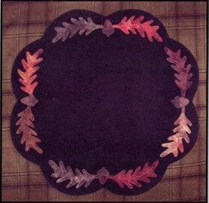 Acorns & Leaves Candle Mat