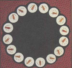 Frosty Pennies Table Mat