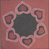 Hearts Within Hearts Table Mat