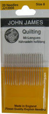 Quilting Needles/Betweens Size 9
