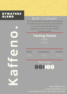 BYWATERS BLEND - Kaffeno