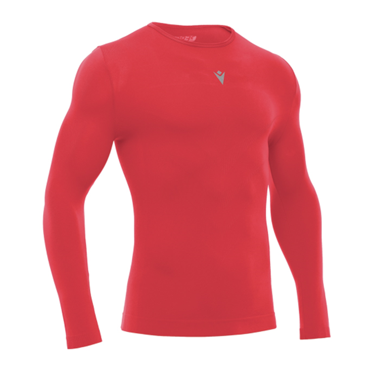 Macron Long Sleeve Compression/Undershirt - Red
