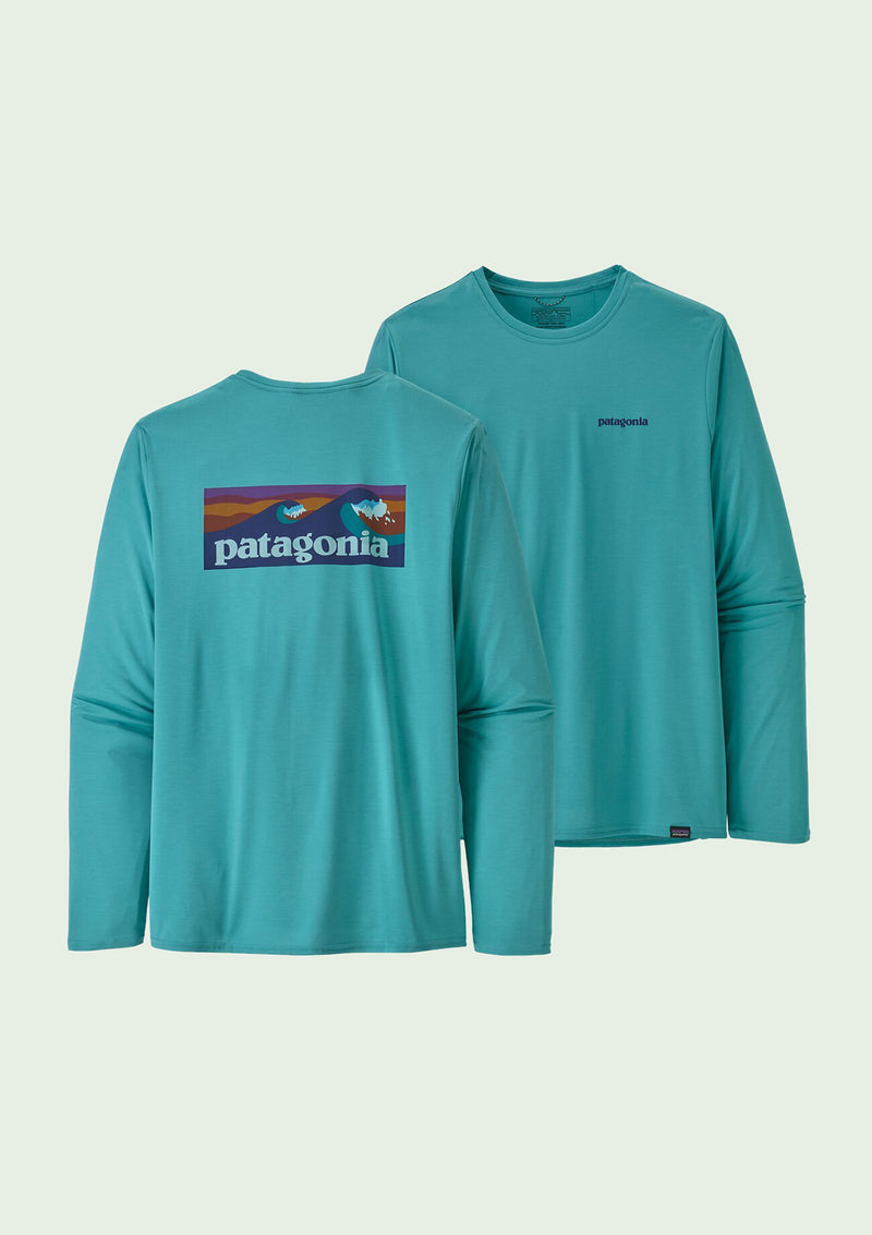 Patagonia - M's Longsleeve Capilene Cool Daily Graphic Shirt /  Iggy Blue