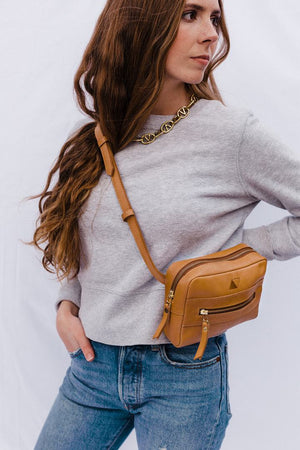 Brenda Belt Bag - Tan