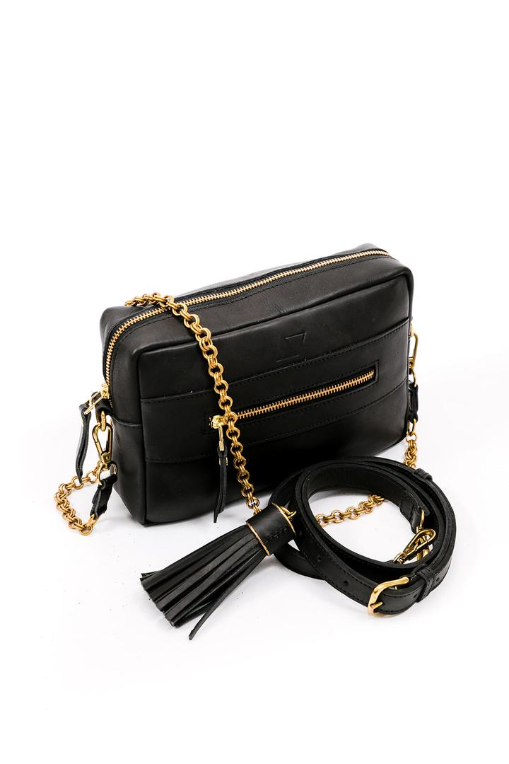Essential Crossbody Bag - Black