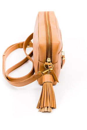 Essential Crossbody Bag - Tan
