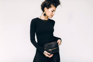 Brenda Belt Bag - Black