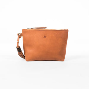 Keely Clutch - Chestnut