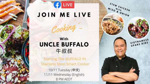 Uncle Buffalo Live Cooking Show 11/11