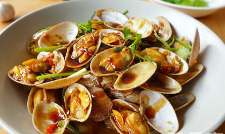 Stir-fry Clams (Pipi)