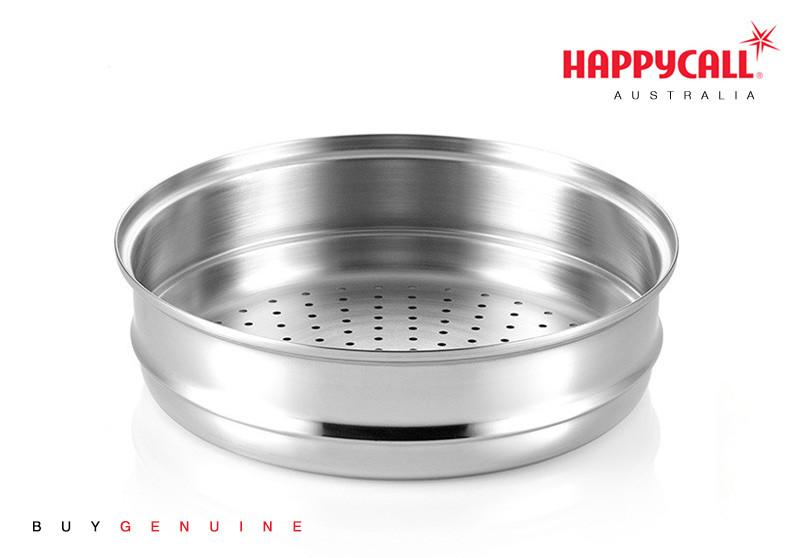 Happycall Stainless Steel Steamer - 24cm
