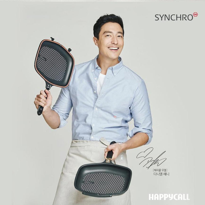 Happycall IH Synchro (Detachable) Double Pan - Standard