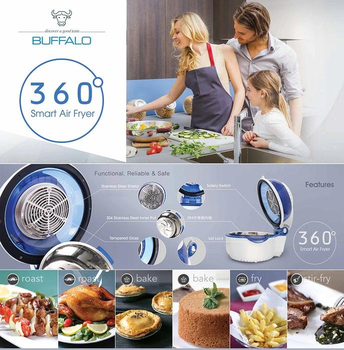 Buffalo Smart Air Fryer