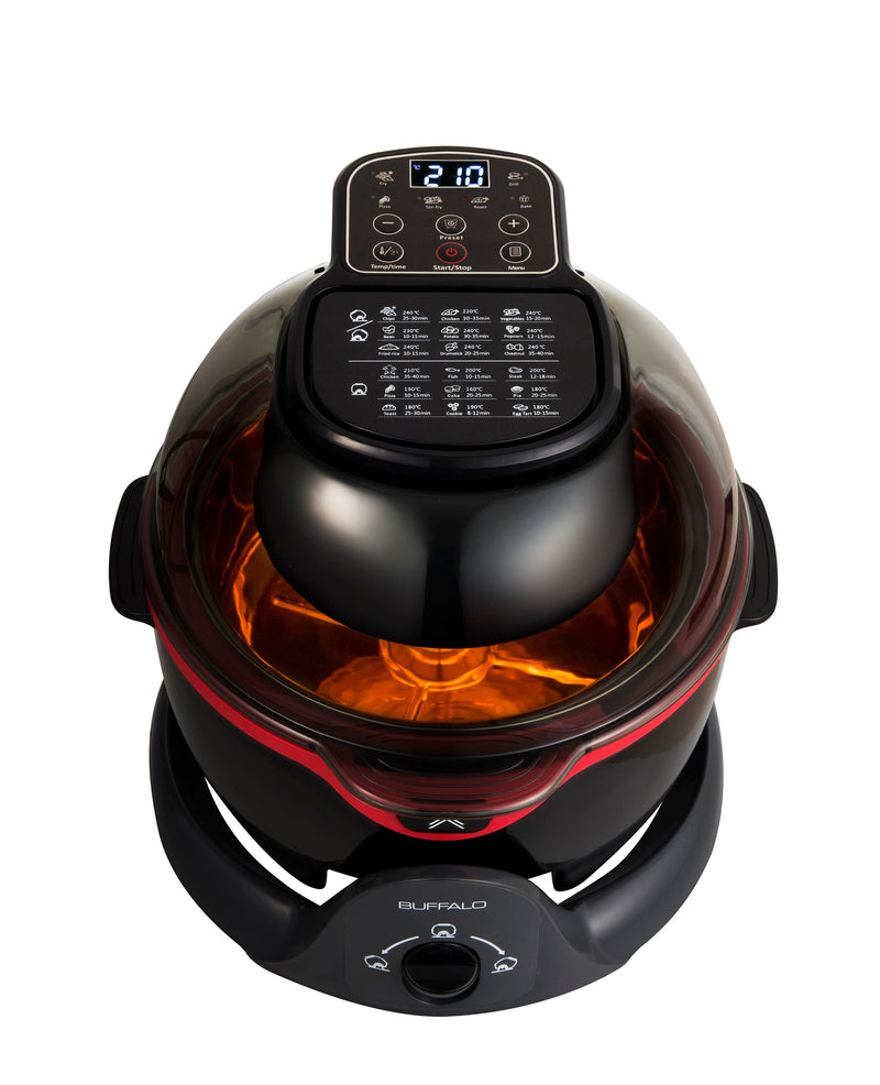 Buffalo Stainless Steel Smart Air Fryer 2.0 - Pro Chef Plus