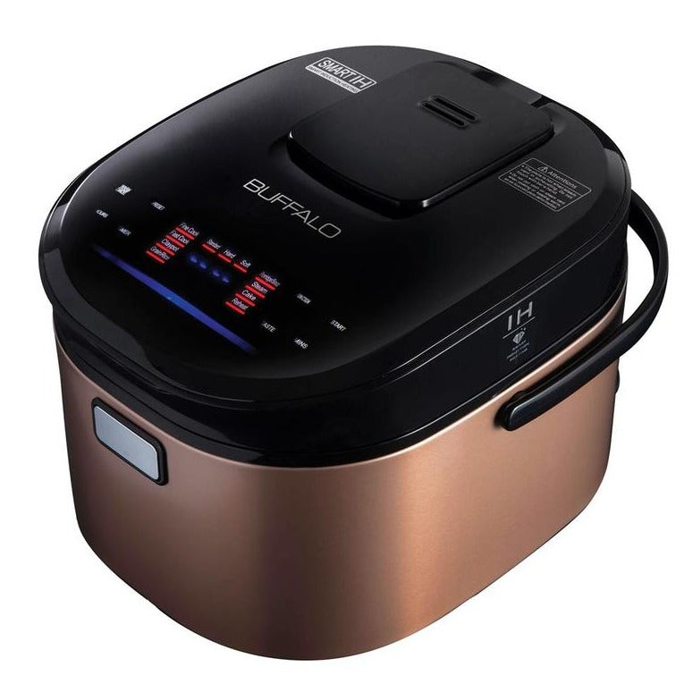 Buffalo IH Stainless Steel Smart Cooker (10 cups) - Pre-order