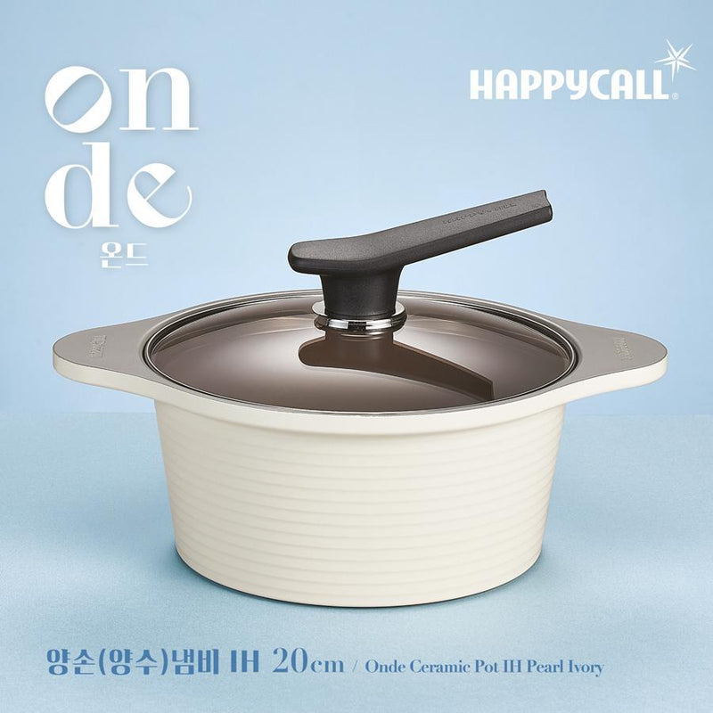Happycall IH Onde Ceramic Pot - 28cm (6.3L)