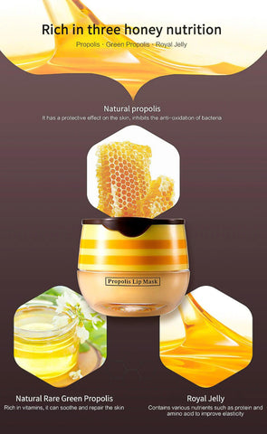 Bee Balm - Intense Hydrating Beauty Lip Mask Alysrom Official 9