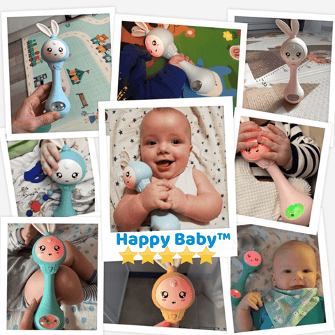 Happy Baby™️ - Melodic Rattle Teether Toy1